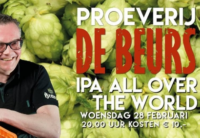 Proeverij IPA all over the world